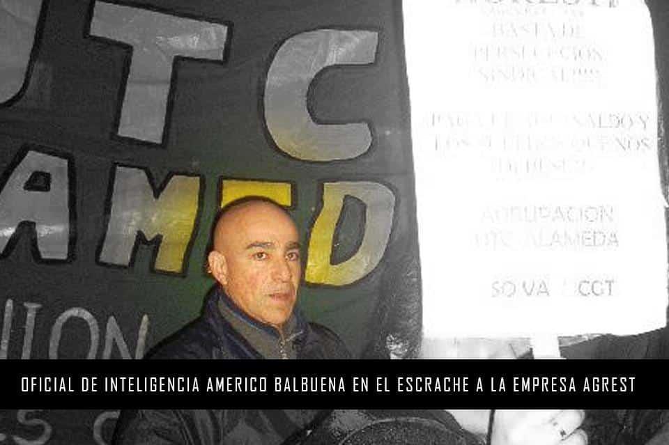 Efecto Balbuena: habría más de 1000 espías del Estado en organizaciones sociales