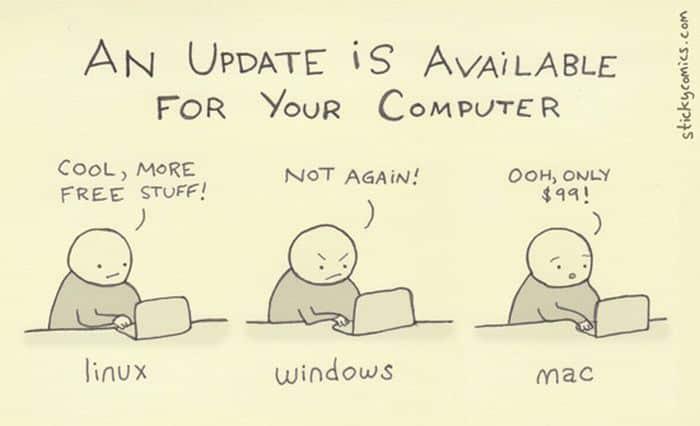 Actualizando la PC: ¿Cómo elegir un nuevo sistema operativo?