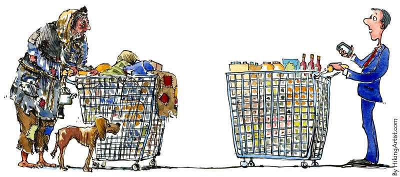 Distribuir la riqueza no es hacer la revolución