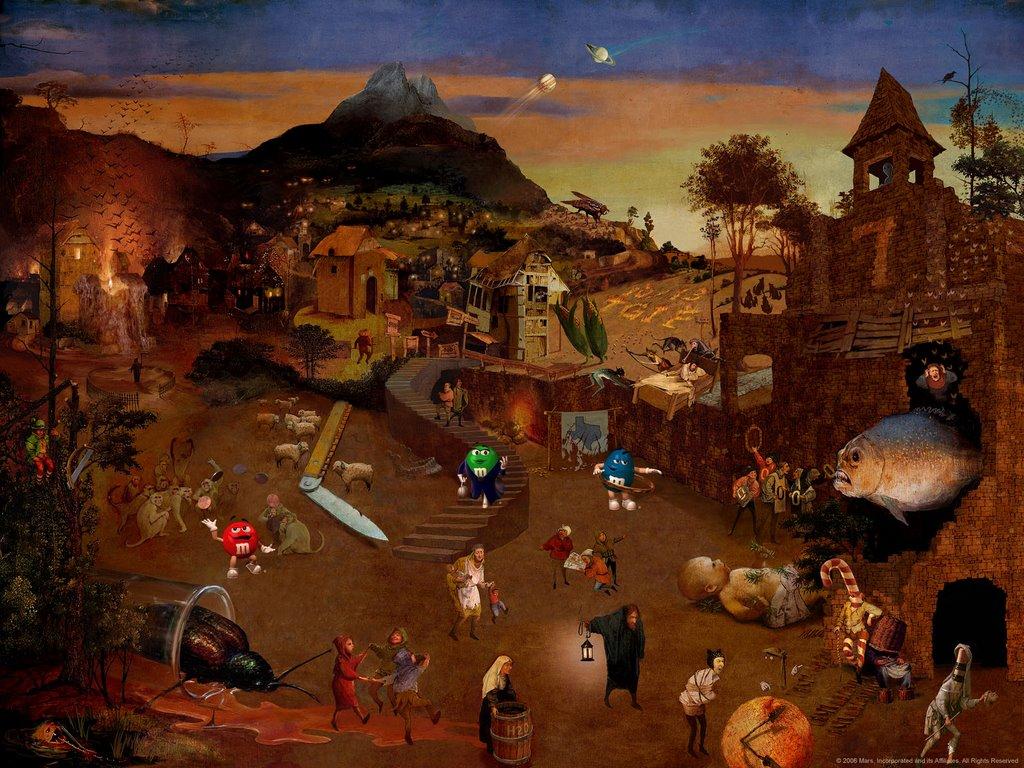 Juego Cinéfilo: encontrá las 50 películas ocultas en esta pintura