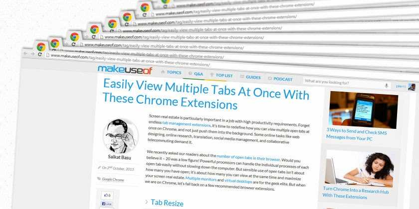 Tabli: un plugin para administrar pestañas de Chrome