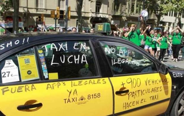 Uber: esa fantasma tan Gasparín