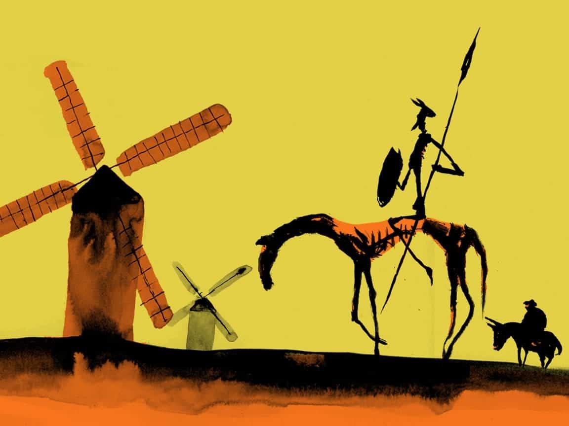 Genial: Publican El Quijote en 17.000 Twits