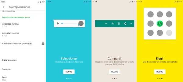 3 formas de convertir audios de WhatsApp en texto