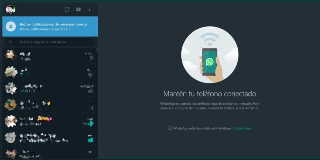 Cómo activar el modo oscuro en WhatsApp Web