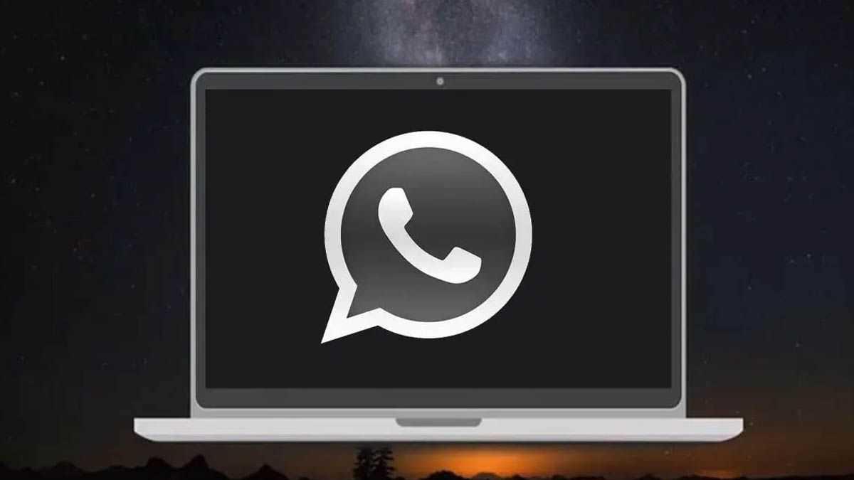 como activar modo oscuro en whatsapp web